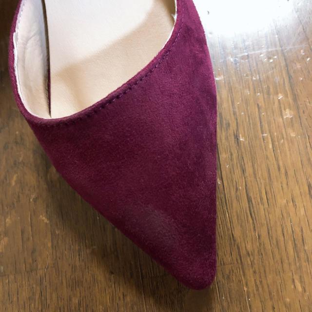 GRL(グレイル)の【GRL】 スウェード ボルドー パンプス レディースの靴/シューズ(ハイヒール/パンプス)の商品写真