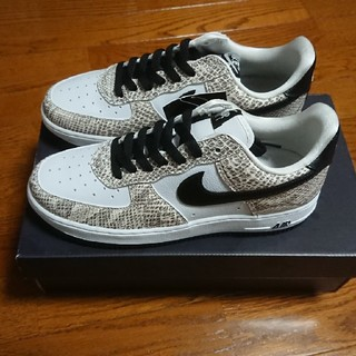 NIKE - NIKE AIR FORCE 1 COCOA SNAKE us7