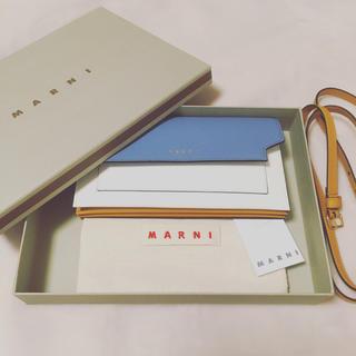 マルニ(Marni)の新品・未使用!MARNI レザーウォレット(財布)