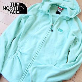 THE NORTH FACE - 美品 XS ノースフェイス レディース フリース パーカージャケット グリーン