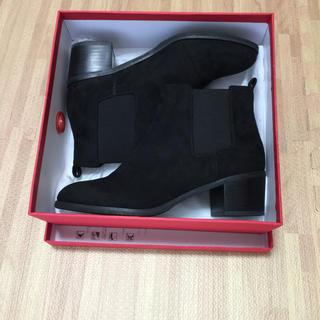 ORiental TRaffic - オリエンタルトラフィック ショートブーツ 黒 L 24.5cm