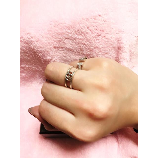 Gucci(グッチ)の訳あり格安⭐︎GUCCI インターロッキングGリング レディースのアクセサリー(リング(指輪))の商品写真