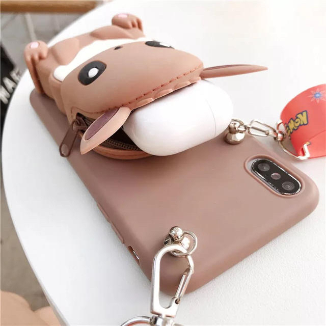 ピカチューiPhone 8ケース  スマホ/家電/カメラのスマホアクセサリー(iPhoneケース)の商品写真