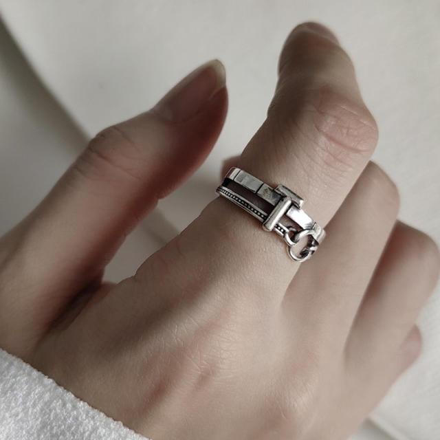 Ameri VINTAGE(アメリヴィンテージ)のsilver925  デザイン シルバーリング リング 指輪 シルバー925 レディースのアクセサリー(リング(指輪))の商品写真
