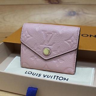 LOUIS VUITTON - 正規品【未使用に近い】LOUIS VUITTON アンプラント ゾエ 折り財布