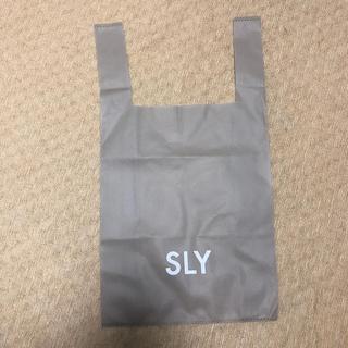SLY - sly スライ エコバッグ 袋