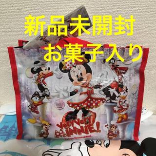 ディズニー(Disney)の★新品未開封★ディズニー ベリーベリーミニー ミニバック チョコバー入り(菓子/デザート)