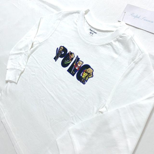 Ralph Lauren(ラルフローレン)のスキーベアコットンジャージーティー 90cm/24M キッズ/ベビー/マタニティのキッズ服男の子用(90cm~)(Tシャツ/カットソー)の商品写真