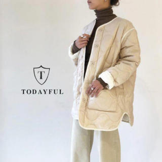 TODAYFUL - TODAYFUL Quilting Down Jacket 即日発送‼️