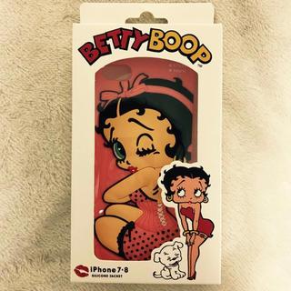 Betty Boop iPhone7,8シリコンケース