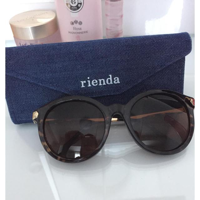 rienda(リエンダ)のリエンダ  サングラス レディースのファッション小物(サングラス/メガネ)の商品写真
