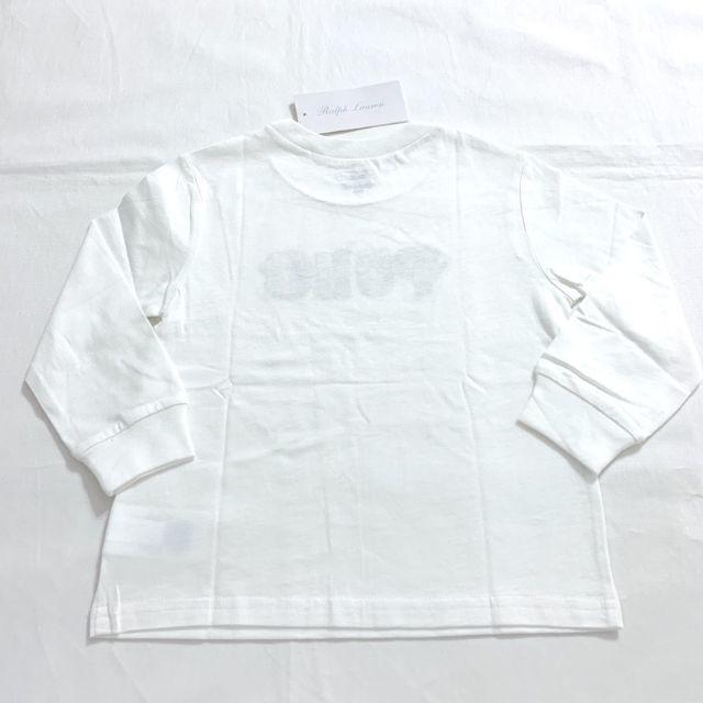Ralph Lauren(ラルフローレン)のスキーベアコットンジャージーティー 85cm/18M キッズ/ベビー/マタニティのベビー服(~85cm)(Tシャツ)の商品写真
