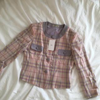 ロキエ(Lochie)のvintage jacket.(ノーカラージャケット)