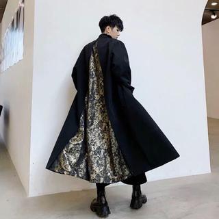 韓国ファッション メンズ コート モード