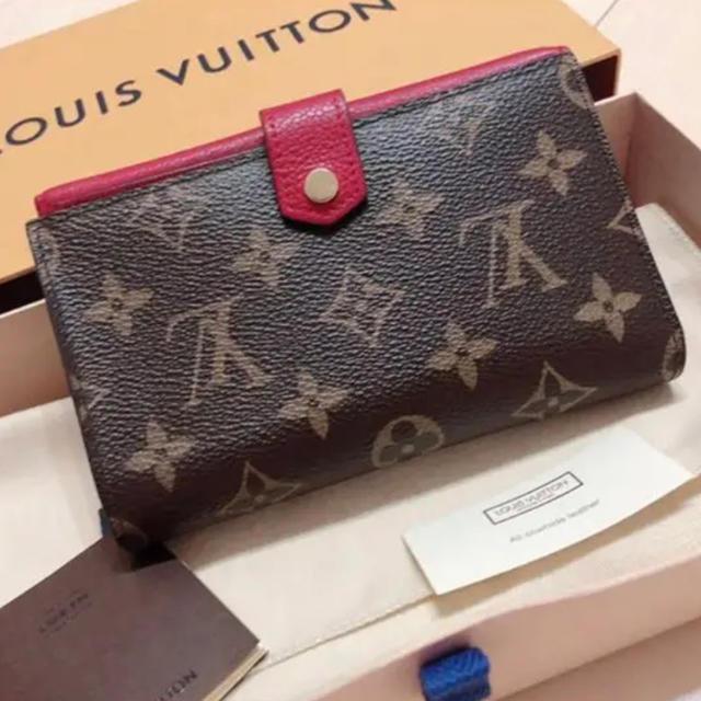 LOUIS VUITTON(ルイヴィトン)のLOUIS VUITTON コンパクト財布 レディースのファッション小物(財布)の商品写真