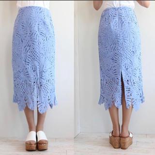 FRAY I.D - リーフレーススカート
