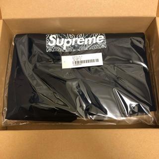 Supreme - supreme 19aw bandana box logo tee navy M