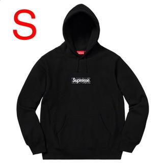 Supreme - 【Sサイズ】送料無料 シュプリーム バンダナ ボックスロゴ フーディー 黒