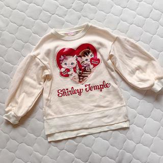 Shirley Temple - シャーリーテンプル🎀ハートねこロングトレーナー 110