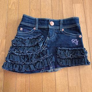 ロニィ(RONI)の【本日限定価格】RONI 145サイズ デニムスカート (スカート)