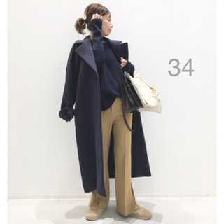 L'Appartement DEUXIEME CLASSE - L'Appartement ◆ Lisiere Wool ElegantCoat