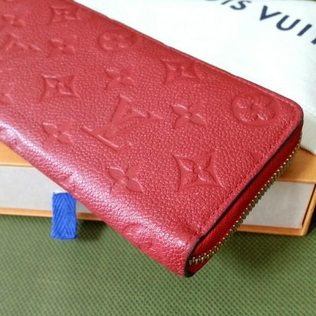 LOUIS VUITTON(ルイヴィトン)の綺麗、長財布 レディースのファッション小物(財布)の商品写真
