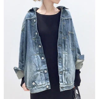 L'Appartement DEUXIEME CLASSE - アパルトモン STAMMBAUM OVERSIZE DENIM JACKET