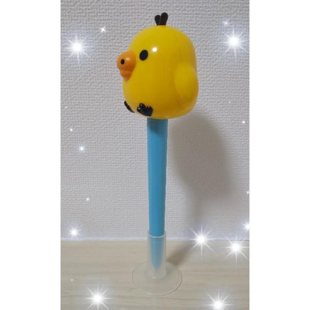 キイロイトリさんの ボールペン(*^^*) 【送料無料!】 エンタメ/ホビーのおもちゃ/ぬいぐるみ(キャラクターグッズ)の商品写真