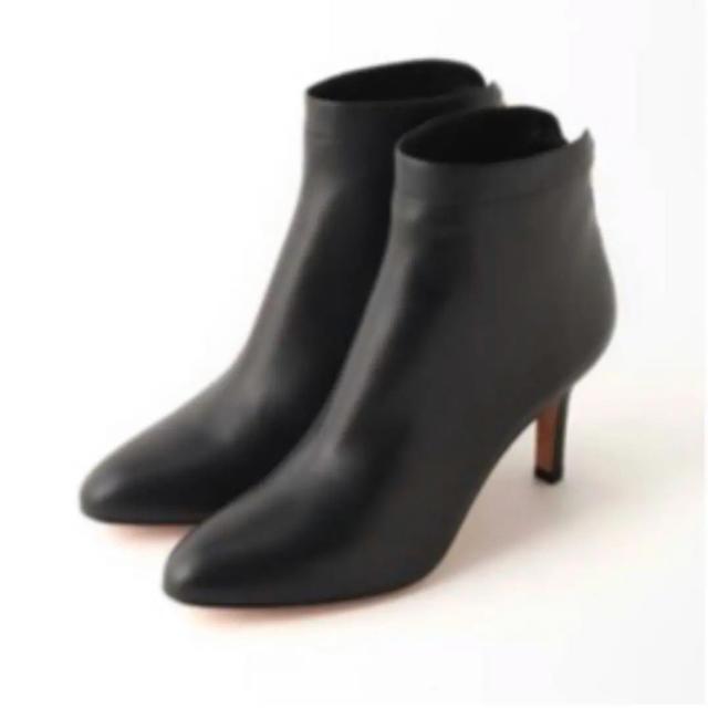 DEUXIEME CLASSE(ドゥーズィエムクラス)の新品Deuxieme Classe PELLICO BACK ZIP SHORT レディースの靴/シューズ(ブーツ)の商品写真