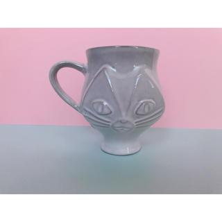メゾンドリーファー(Maison de Reefur)のジョナサンアドラー  猫 マグカップ 梨花(グラス/カップ)