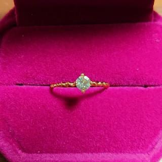 グリーンゴールドの指輪(11号)(リング(指輪))