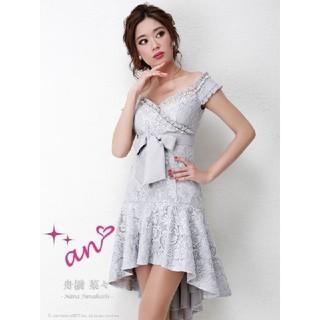 アン(an)のan アン オフショル テールカット ドレス  Sサイズ(ナイトドレス)