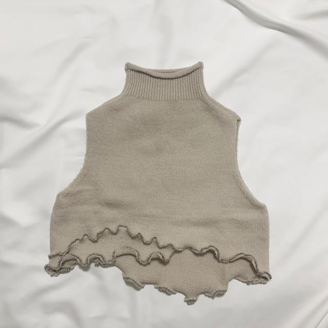 Ameri VINTAGE(アメリヴィンテージ)のoriginal remake knitvest レディースのトップス(ニット/セーター)の商品写真