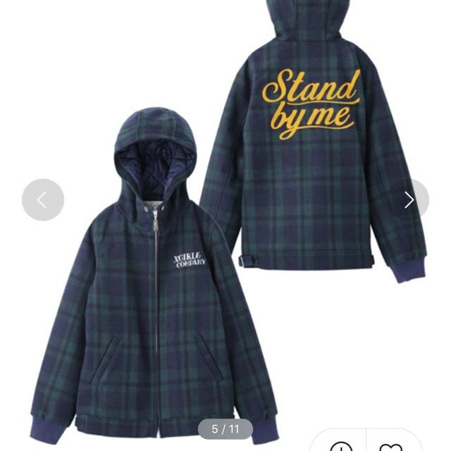 X-girl(エックスガール)のX-girl  WOOLEMBROIDERED JACKET  レディースのジャケット/アウター(ブルゾン)の商品写真