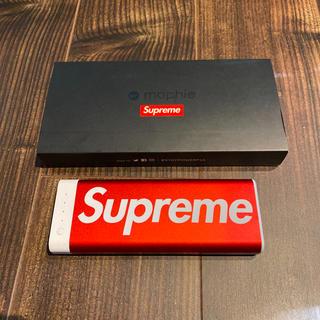 シュプリーム(Supreme)の新品 未使用 supreme Mophie モバイルバッテリー(バッテリー/充電器)