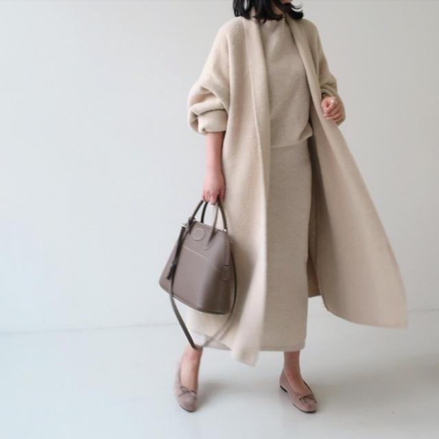 dholic(ディーホリック)のストーリーナインエコミンクファーコート レディースのジャケット/アウター(毛皮/ファーコート)の商品写真