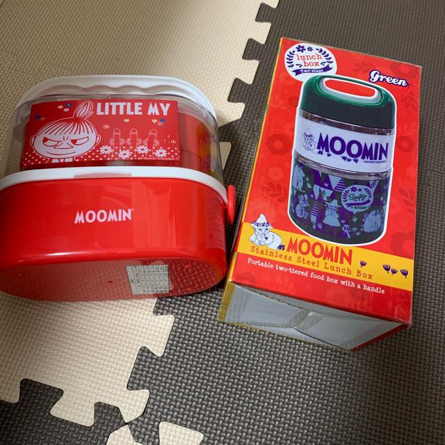 ムーミンランチボックスセット インテリア/住まい/日用品のキッチン/食器(弁当用品)の商品写真