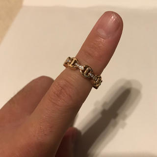 Chrome Hearts - 新品未使用 HOORSENBUHS dame TRI-LINK 18K ring