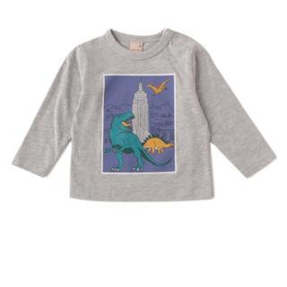 petit main - 恐竜 長袖Tシャツ 90サイズ