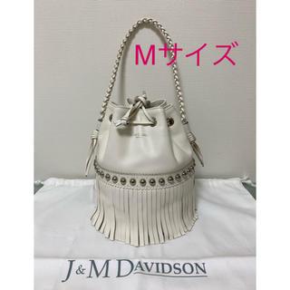 ジェイアンドエムデヴィッドソン(J&M DAVIDSON)のJ&M DAVIDSON カーニバル Mドゥロワー 別注 美品(ショルダーバッグ)
