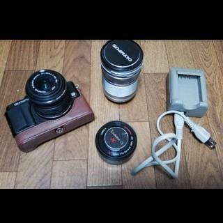 OLYMPUS - ミラーレス一眼レフカメラ E-PL6+レンズ3本
