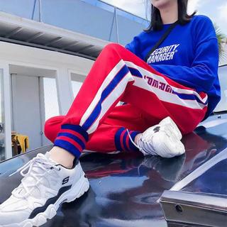 ZARA - おしゃれジャージ ラインパンツ adidas NERDY ジャージ