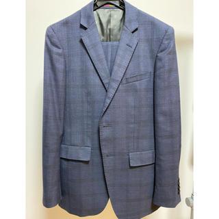 ORIHICA - 美品 オリヒカ シングル スーツ 紺 チェック Y5 170/76cm 秋冬