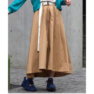 ダブルクローゼット(w closet)のフレアロングスカート wcloset(ロングスカート)