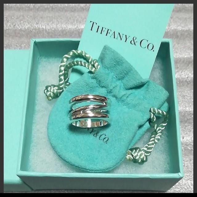 Tiffany & Co.(ティファニー)のティファニー オープンダイアゴナルリング レディースのアクセサリー(リング(指輪))の商品写真