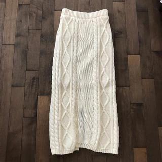 dholic - ニットスカート