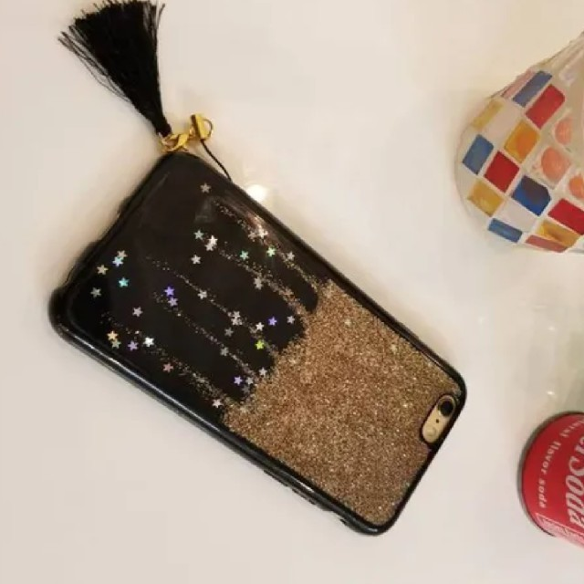 iPhoneケース  送料無料!ゴールド プレセント 人気 可愛い スマホ/家電/カメラのスマホアクセサリー(iPhoneケース)の商品写真