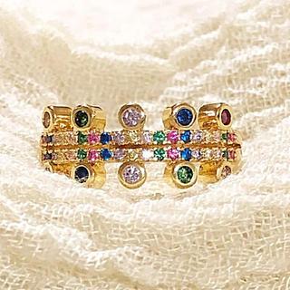 マルチタイプオシャレなデザインリング(リング(指輪))