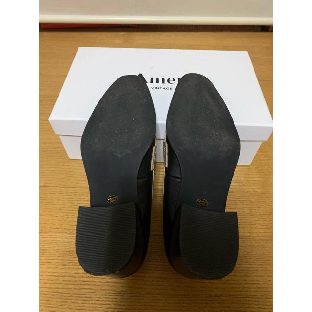 Ameri VINTAGE(アメリヴィンテージ)のamerivintage POINTED COIN LOAFER ローファー レディースの靴/シューズ(ローファー/革靴)の商品写真