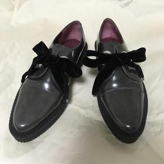 MARC BY MARC JACOBS - マークバイマークジェイコブス 革靴 グレー